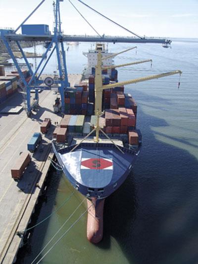 Consolidação de Cargas Marítimas